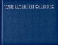 Tabellarisch kasboek 210x160mm 96blz 8 kolommen blauw