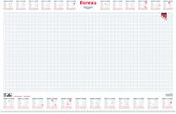Bureau-onderlegblok 2019 Quantore 60x40cm wit