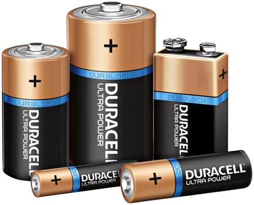 Batterij Duracell Ultra Power alkaline 6xAA + 2 gratis-3