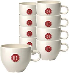 Kopje Douwe Egberts Cappuccino 180ml wit