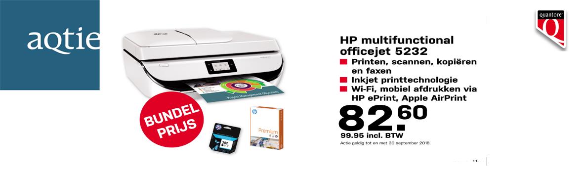 Voorpagina- Multifunctional HP OfficeJet 5232