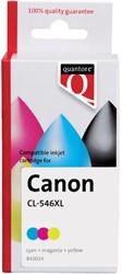 Inkcartridge Quantore Canon CL-546XL kleur