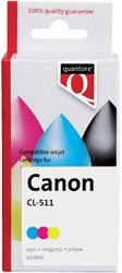 Inkcartridge Quantore Canon CL-511 kleur