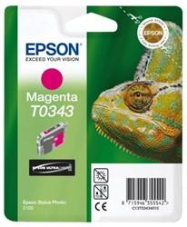 Inkcartridge Epson T0343 rood