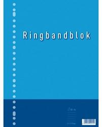 Ringbandblok A4 23-gaats ruit 5mm