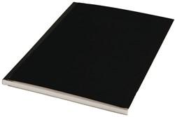Schrift met harde kaft A4 160blz gelinieerd assorti