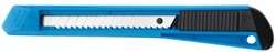 Snijmes Westcott Office 9mm met kunststof houder blauw
