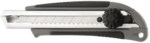 Snijmes Westcott Professional 18mm met draaisluiting grijs