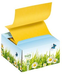 Memoblokdispenser 3M Post-it Z-Notes B330 recycled bloemen