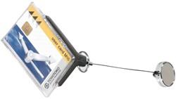 Veiligheidspashouder Durable 8307 met afrolmechanisme antr