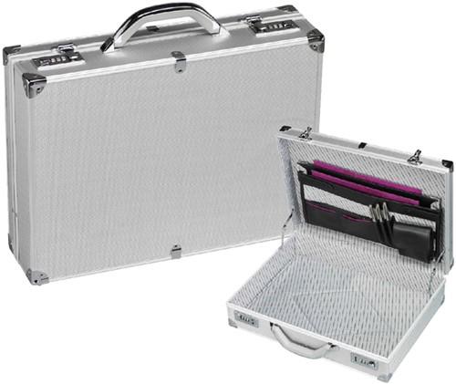 Attachekoffer Rillstab Mini aluminium