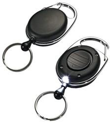 Afrolmechanisme Durable 8198 met ring+lampje 80cm zwart