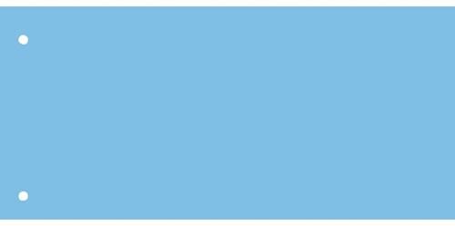 Scheidingsstrook Kangaro breed 225x120mm 180gr blauw