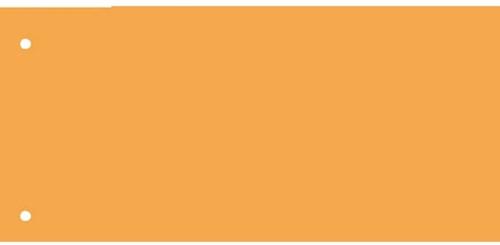 Scheidingsstrook Kangaro breed 225x120mm 180gr oranje
