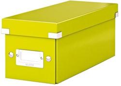 Cd box Leitz Click & Store WOW 143x136x352mm groen