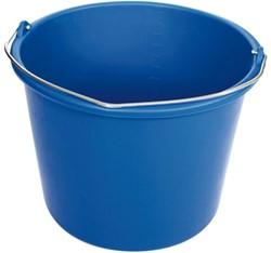 Emmer kunststof 12l blauw