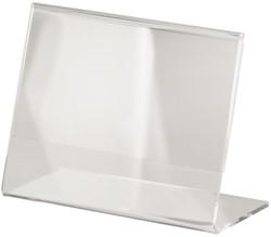 Tafelstandaard Sigel TA217 A7 liggend schuin glashelder