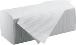 Handdoek Satino Black 25x23cm 2-laags zigzag 3200st.