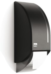 Dispenser Satino Black voor toiletpapier