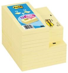 Memoblok 3M Post-it 654 en 655 + 12x653 gratis