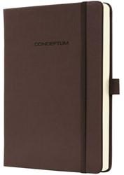 Notitieboek Conceptum CO575 135203mm bruin lijn