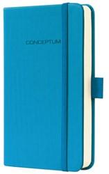 Notitieboek Conceptum CO578 95x150mm blauw lijn