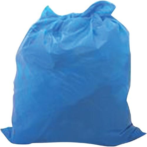 Afvalzak HDPE 70x110cm 110liter blauw 500stuks