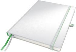 Notitieboek Leitz Complete hardcover A4 gelinieerd wit