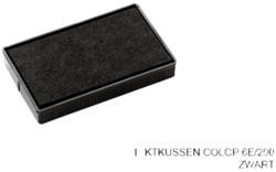Stempelkussen Colop 6E/200 zwart