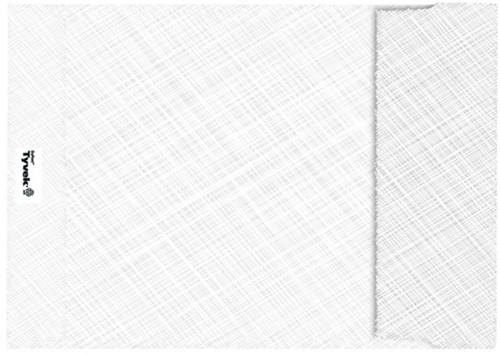 Envelop Tyvek akte C5 176x250mm 55gr wit 100stuks