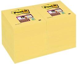 Memoblok 3M Post-it 622-SSY Super Sticky 51x51mm geel