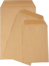 Envelop Quantore loonzak 65x105 70gr bruin 1000stuks