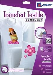 T-shirt transfer Avery C9405-8 A4 8vel