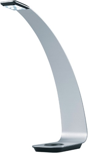 Bureaulamp Hansa ledlamp Scala zilver