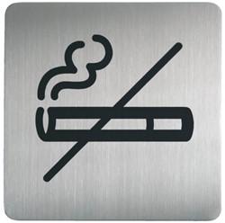 Infobord pictogram Durable 4953 vierkant niet roken 150mm