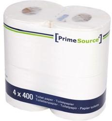 Toiletpapier PrimeSource Duo 2laags 400vel 40rollen