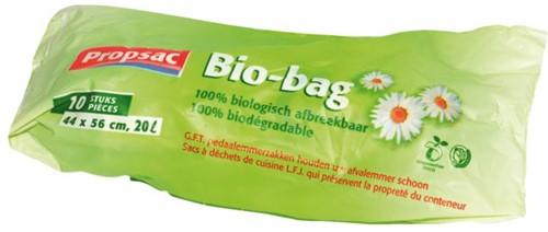 Afvalzak Bio 44x56cm 18micron 20liter 30rolx10stuks