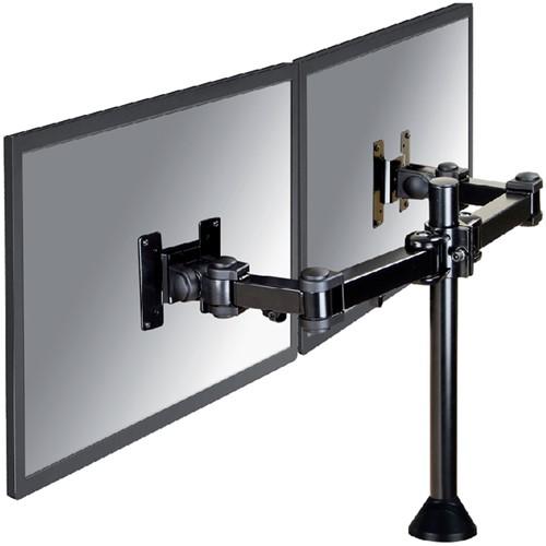 Monitorarm Neomounts D960DG doorvoerklem zwart
