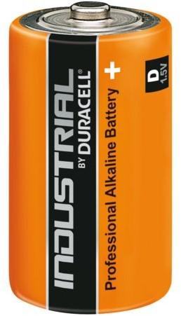 Batterij Industrial D alkaline doos à 10 stuks