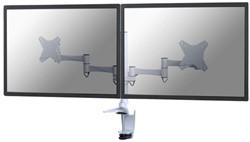 """monitorarm Newstar D1330D 2x10-27"""" met klem wit"""
