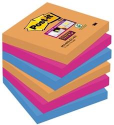 Memoblok 3M Post-it 654-SSEG Super Sticky 76x76mm Bangkok