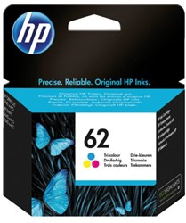 Inkcartridge HP C2P06AE 62 kleur