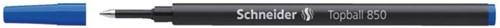 Rollerpenvulling Schneider 850 blauw medium