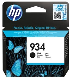 Inkcartridge HP C2P19AE 934 zwart