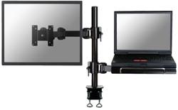 """Laptoparm Newstar D960 10-27"""" met klem zwart"""