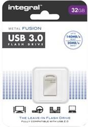 USB-Stick 3.0 Integral FD Metal Fusion 32GB