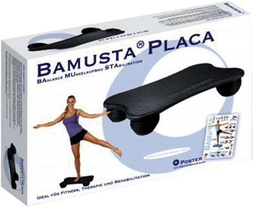 Balance board Bamusta zwart