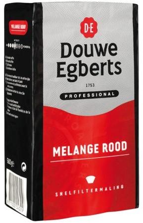 Koffie Douwe Egberts snelfiltermaling Roodmerk 500gr-1
