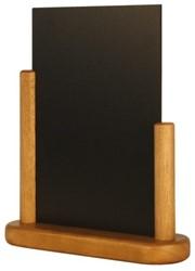 Krijtbord Securit 17x16x5cm teak hout