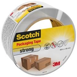 Verpakkingstape Scotch strong 48mmx66m transparant PP